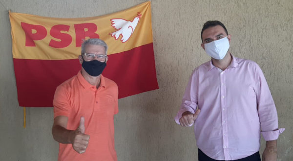 Renann Bragatto é pré-candidato a prefeito do PSB de Colatina