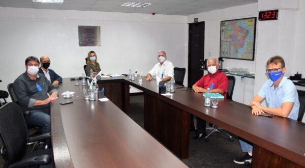 Lastênio Cardoso participou de reunião com a presidente da Findes