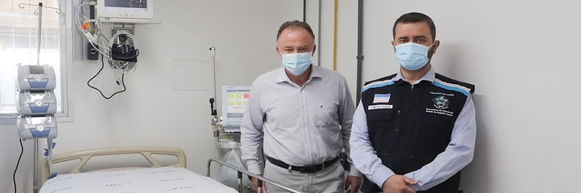 Governo do ES amplia mais 22 leitos de UTI no Hospital Estadual São José do Calçado