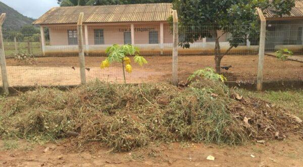 Escolas do interior passam por manutenção e reparos