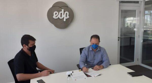 EDP assina ordem de serviço para construção de sua segunda subestação de energia em Nova Venécia