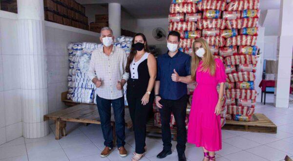 Baixo Guandu entregou mais de 4 mil cestas básicas para alunos da rede pública municipal