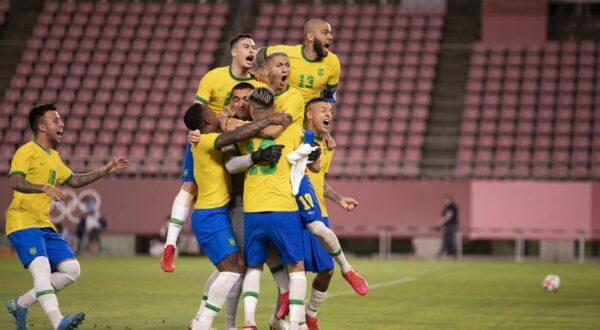 Brasil enfrentará a Espanha na final dos Jogos Olímpicos de Tóquio 2020